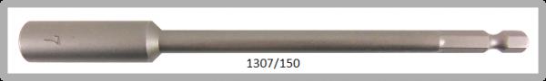 """10 Stück Vessel HEX Steckschlüssel POWER BIT 1/4"""" HEX E6.3 A/F 7.0 X Ø13.0 X 150 (mm)"""