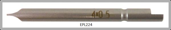 Vessel Industriebit für Schlitz-Schrauben HALF MOON BIT Ø4mm 0.5xØ4.0 X 44 (mm)
