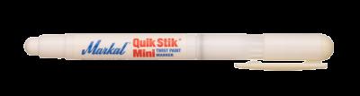 MARKAL Schnell trocknender Festfarbenstift im Drehhalter QUIK STIK MINI weiss MOWOTAS