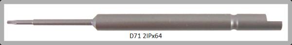 Vessel Industriebit für Torx-Plus-Schrauben HALF MOON BIT Ø4mm IP 2 X Ø1.5 X 20 X 64 (mm)