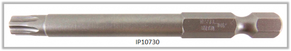 "Vessel Industriebit für Torx-Plus-Schrauben POWER BIT 1/4"" HEX E6.3  IP 30 X Ø6.35 X 70(mm)"