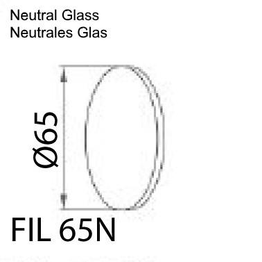 Neutrales Glas für Illi Maschinenleuchte