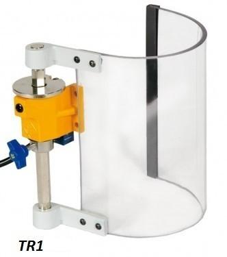 Bohrmaschinen Schutzeinrichtung halbrunder Schirm - TR1 - 120 mm x 200 mm