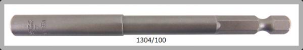 """10 Stück  Vessel HEX Steckschlüssel POWER BIT 1/4"""" HEX E6.3  A/F 4.0 X Ø8.0 X 100 (mm)"""