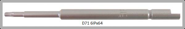 Vessel Industriebit für Torx-Plus-Schrauben HALF MOON BIT Ø4mm IP 6 X Ø2.5 X 20 X 64 (mm)