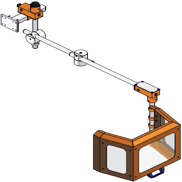 Fräsmaschinen Unfallschutzvorrichtung AF eckiger Schirm Vorschaubild MOWOTAS