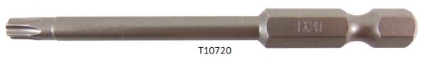 """Vessel Industriebit für Torx-Schrauben POWER BIT 1/4"""" HEX E6.3 TX 20 X Ø4.37 X 70 (mm)"""