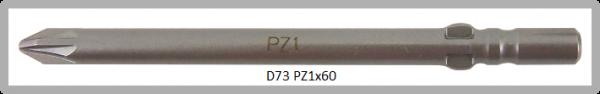 Vessel Industriebit für Pozidriv-Schrauben WING SHANK BIT Ø4mm PZ 1 X Ø4.0 X 60 (mm)