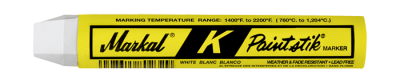 MARKAL White-hot surface marker: 1800°F to 2200°F (982°C to 1204°C) 144 pieces