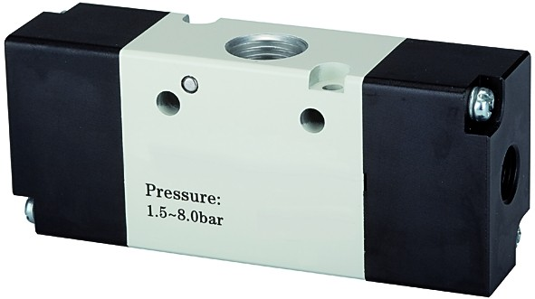 3/2-way valve, Pneumatic, »3A«, bistable, M5 - G 1/8 - 3/8