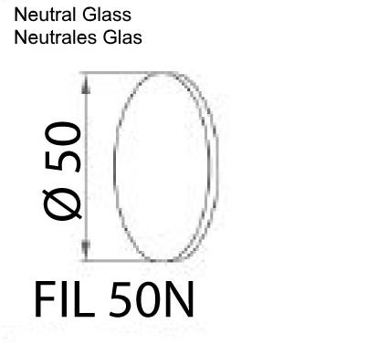 Neutrales Glas für PIK LED Maschinenleuchte