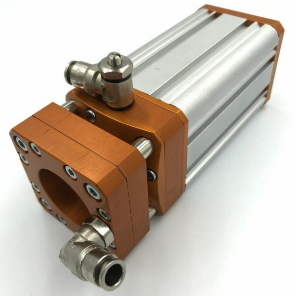 Protective camera housing with multi-stage air flow (MNOK-D)