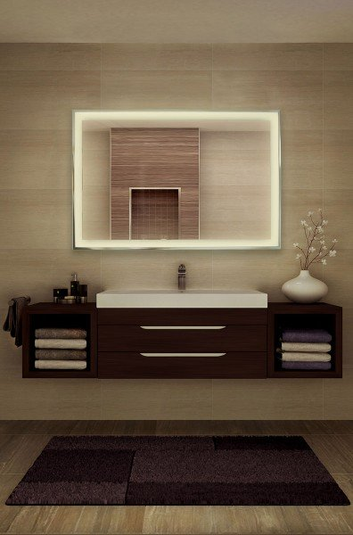PowerSun Mirror Infrared heater with LED Lighting 400-900 W