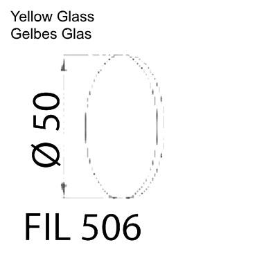 Gelbes Glas PIK LED