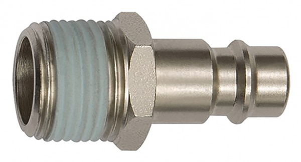 Nippel für Kupplungen NW 7,2 - NW 7,8, Stahl, R 1/4 - 1/2, AG