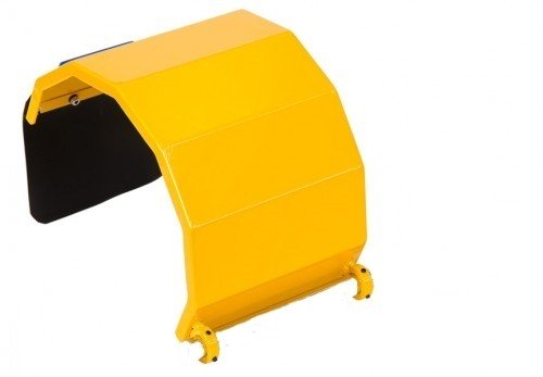 Spare part: Protective cover completely made of steel for safety guard TFM
