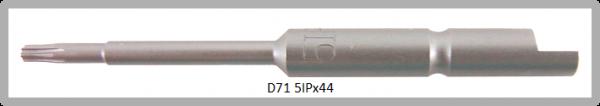 Vessel Industriebit für Torx-Plus-Schrauben HALF MOON BIT Ø4mm IP 5 X Ø2.0 X 20 X 44 (mm)