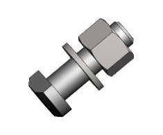 Montagesatz Gewinde M5 für Kameragehäuse einschließlich Unterlegscheibe & Mutter