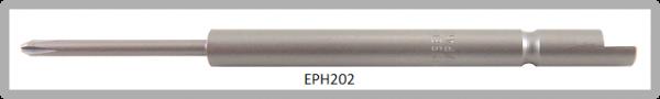 Vessel Industriebit für Phillips-Schrauben HALF MOON BIT Ø4mm PH 0 X Ø1.8 X 20 X 64 (mm)