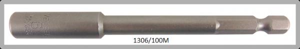 """10 Stück  Vessel magnetische HEX Steckschlüssel POWER BIT 1/4"""" HEX E6.3  A/F 6.0 X Ø10.0 X 100 (mm)"""