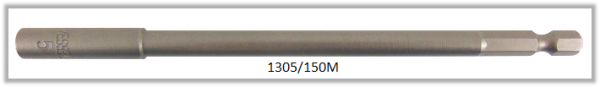 """10 Stück Vessel magnetische HEX Steckschlüssel POWER BIT 1/4"""" HEX E6.3 A/F 5.0 X Ø8.5 X 150 (mm)"""