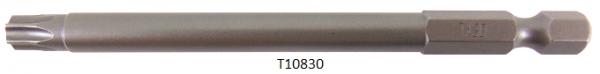 """Vessel Industriebit für Torx-Schrauben POWER BIT 1/4"""" HEX E6.3 TX 30 X Ø6.35 X 90 (mm)"""