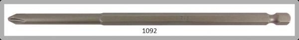 """Vessel Industriebit für Phillips-Schrauben POWER BIT 1/4"""" HEX E6.3 PH 2 X Ø6.35 X 152 (mm)"""