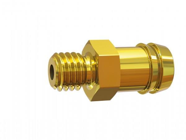 Einschraubschlauchtülle, M8x0,75 - M14x1,5, für Schl. LW 6-13 mm, SW 12-17, MS