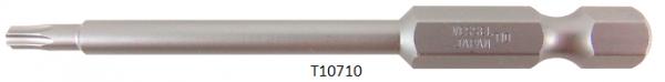 """Vessel Industriebit für Torx-Schrauben POWER BIT 1/4"""" HEX E6.3  TX 10 X Ø3.96 X 70 (mm)"""