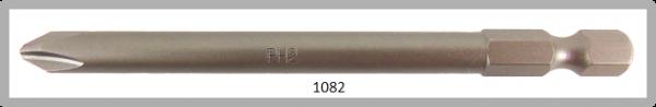 """Vessel Industriebit für Phillips-Schrauben POWER BIT 1/4"""" HEX E6.3  PH 2 X Ø6.35 X 89 (mm)"""