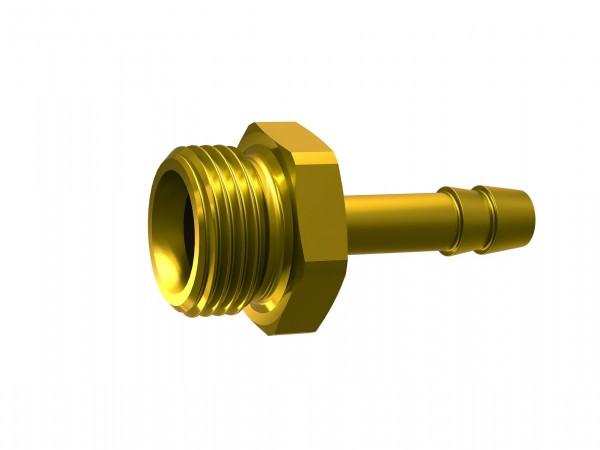 Screw-in hose connector, G 1, for hose I.D. 19 - 32 mm, AF 38
