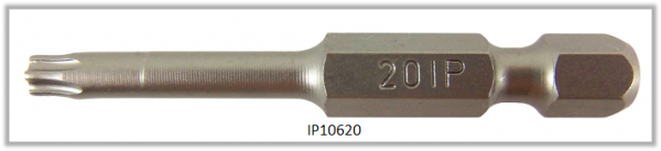 "Vessel Industriebit für Torx-Plus-Schrauben POWER BIT 1/4"" HEX E6.3  IP 20 X Ø4.37 X 49(mm)"