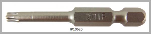 """Vessel Industriebit für Torx-Plus-Schrauben POWER BIT 1/4"""" HEX E6.3 IP 20 X Ø4.37 X 49(mm)"""