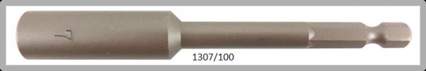 """10 Stück Vessel HEX Steckschlüssel POWER BIT 1/4"""" HEX E6.3 A/F 7.0 X Ø13.0 X 100 (mm)"""