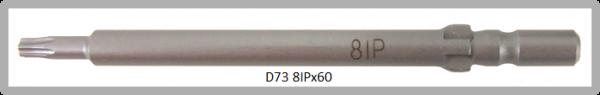 Vessel Industriebit für Torx-Plus-Schrauben WING SHANK BIT Ø4mm 8IP X Ø3.0 X 20 X 60 (mm)