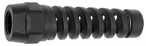Kink protection spiral for swing safety couplings, hose 12x8 - 16x11