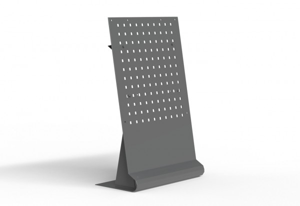 Standfuß für Infrarotheizungen bis 60x120 cm, Stahl, 3 - 8 kg