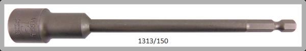 """10 Stück Vessel HEX Steckschlüssel POWER BIT 1/4"""" HEX E6.3 A/F 13.0 X Ø19.0 X 150 (mm)"""