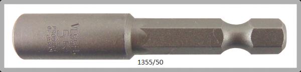 """10 Stück  Vessel HEX Steckschlüssel POWER BIT 1/4"""" HEX E6.3  A/F 5.5 X Ø9.0 X 50 (mm)"""