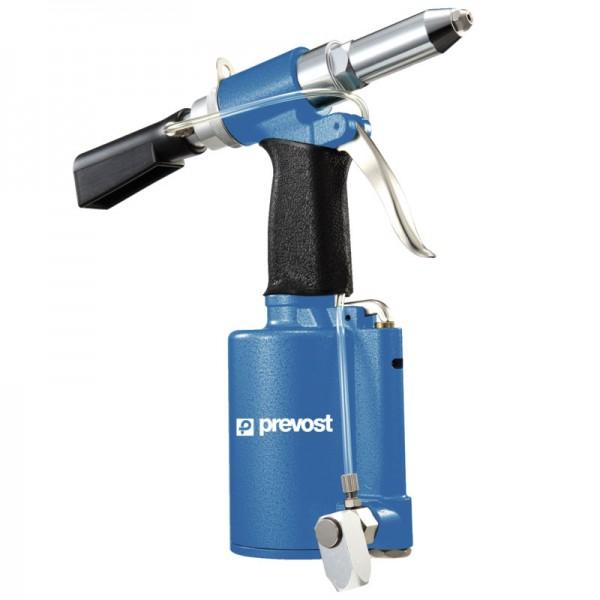 Hydraulisch-pneumatische Nietmaschine mit Absaugvorrichtung Prevost TAR 481220