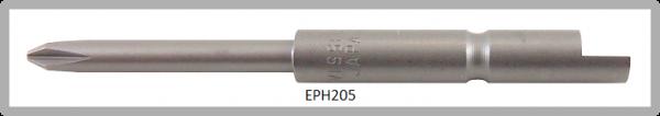 Vessel Industriebit für Phillips-Schrauben HALF MOON BIT Ø4mm PH 0 X Ø2.5 X 20 X 44 (mm)
