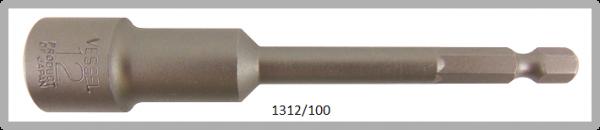 """10 Stück  Vessel HEX Steckschlüssel POWER BIT 1/4"""" HEX E6.3  A/F 12.0 X Ø19.0 X 100 (mm)"""