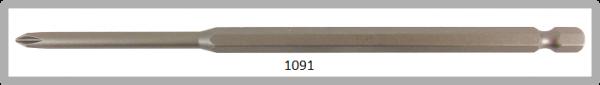 """Vessel Industriebit für Phillips-Schrauben POWER BIT 1/4"""" HEX E6.3  PH 1 X Ø4.76 X 152 (mm)"""