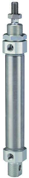 Rundzylinder »MI« doppeltwirkend, Kolben-Ø 25, Hub 10 - 125, G 1/8