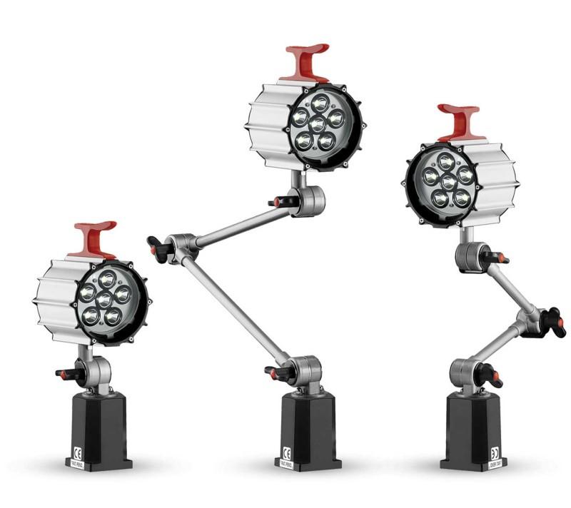 CLIK LED Maschinenleuchten 12 W großer Fuß