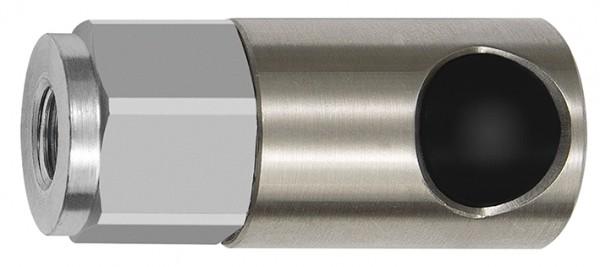 Druckknopf-Sicherheitskupplung NW 6, ISO 6150 C, ES, G 1/8 - 1/2, IG/AG