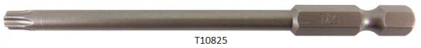 """Vessel Industriebit für Torx-Schrauben POWER BIT 1/4"""" HEX E6.3  TX 25 X Ø4.75 X 90 (mm)"""