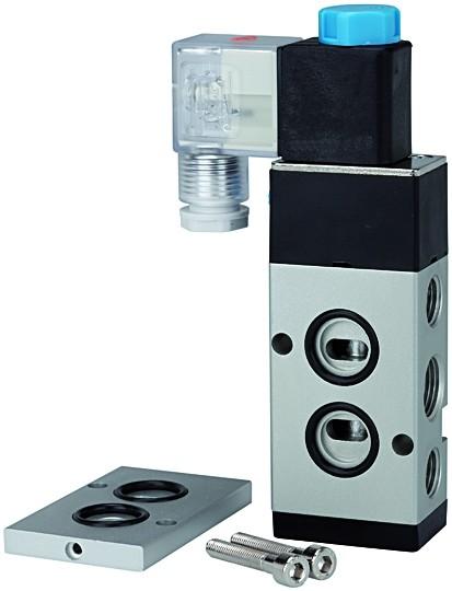 3/2-5/2-Wegeventil, NAMUR, G 3/8 (1), G 1/4 (3 + 5), 24 V DC - 230 V, 50 Hz