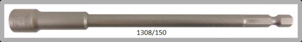 """10 Stück  Vessel HEX Steckschlüssel POWER BIT 1/4"""" HEX E6.3  A/F 8.0 X Ø13.0 X 150 (mm)"""