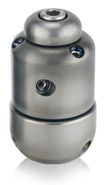 """Front push rotor nozzle, 1/2"""", stainless steel"""